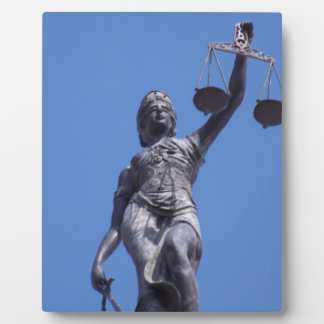 Scales of Justice Plaque