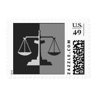 Scales of Justice Postage