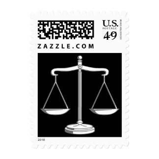 Scales of Justice - Postage