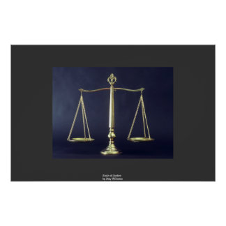 Scales of Justice Print
