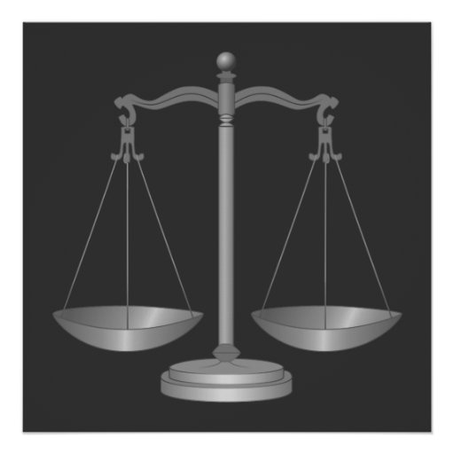 Scales of Justice Posters