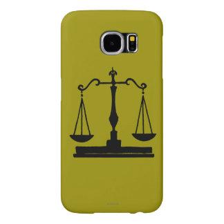 Scales Of Justice Samsung Galaxy S6 Case