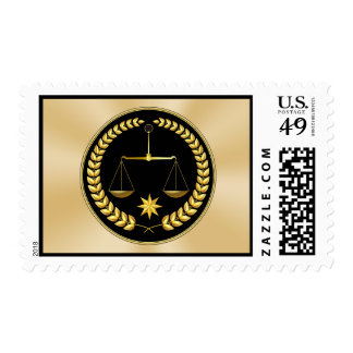 Scales of Justice Stamps in many Denominations