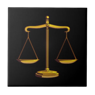 Scales of Justice - Tile