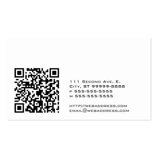 Scales of justice w qr codes business card templates friedricerecipe Images