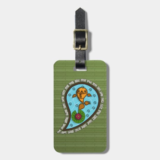 Scales the Goldfish Luggage Tag