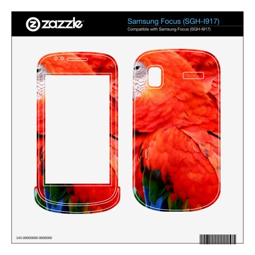 Scalet Macaw Skins For Samsung Focus