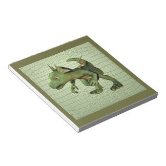 Scaley Dragon Notepad