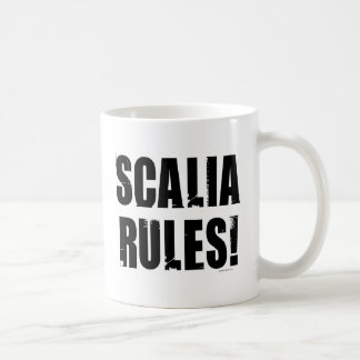 Scalia Rules Coffee Mug