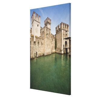 Scaliger Castle, Sirmione, Brescia Province, Canvas Print