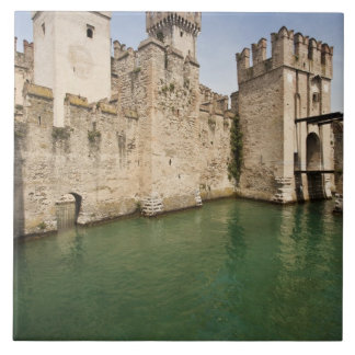 Scaliger Castle, Sirmione, Brescia Province, Ceramic Tile