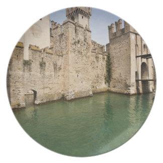 Scaliger Castle, Sirmione, Brescia Province, Melamine Plate