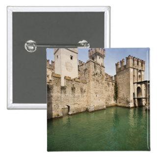Scaliger Castle, Sirmione, Brescia Province, Pinback Button