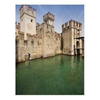 Scaliger Castle, Sirmione, Brescia Province, Postcard