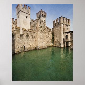 Scaliger Castle, Sirmione, Brescia Province, Poster