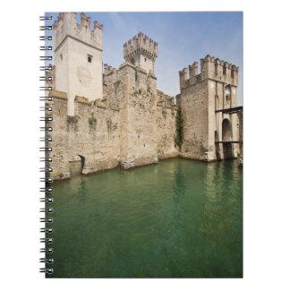 Scaliger Castle, Sirmione, Brescia Province, Spiral Notebook