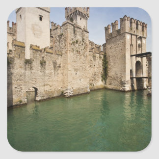Scaliger Castle, Sirmione, Brescia Province, Square Sticker