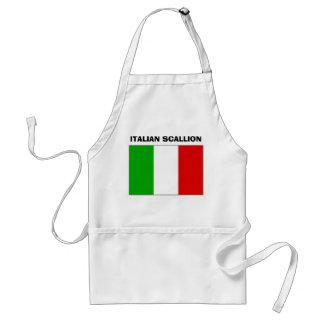 SCALLION ITALIANO DELANTAL