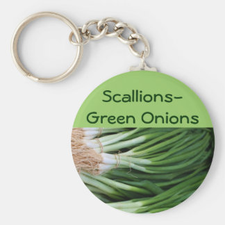 Scallions/Green Onions keychain