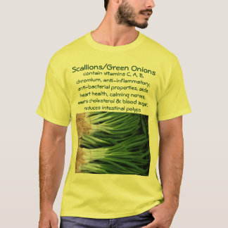 Scallions/Green Onions mens shirt