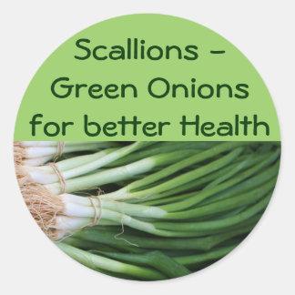 Scallions/Green Onions stickers