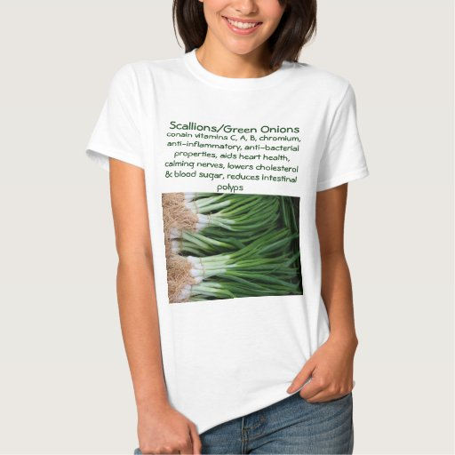 Scallions/Green Onions womens shirt