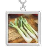 Scallions Personalized Necklace