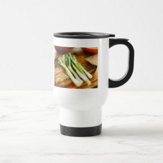 Scallions Taza De Café