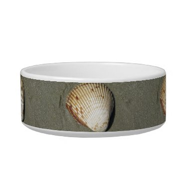 Beach Themed Scallop Bowl