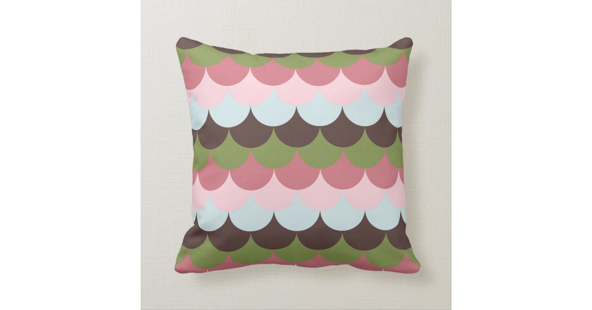Ice Cream Throw Pillows : Scallop - Ice Cream Dream Throw Pillow Zazzle