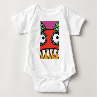 Scallop Monster Infant Creeper