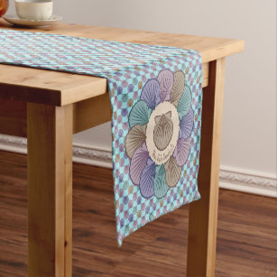 Scallops Table Runners Zazzle
