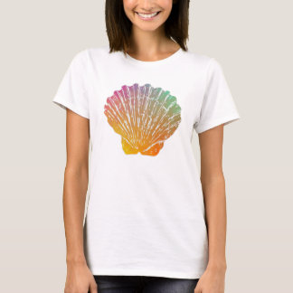 Scallop Shell Artwork Women's T-Shirt