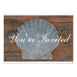 Scallop Shell Invitation