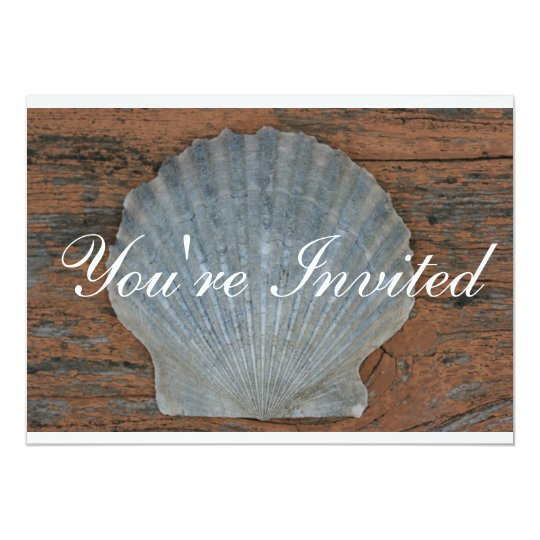 Scallop Shell Invitation