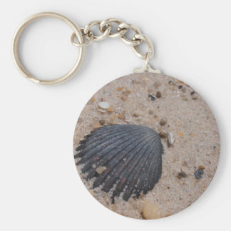 Scallop Shell keychain