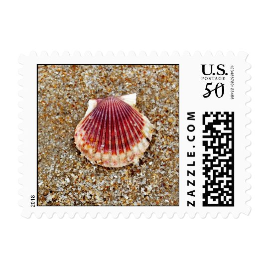 Scallop Shell - postage stamps