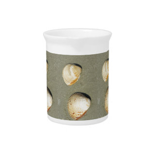 Scallop Shells Drink Pitcher