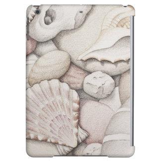 Scallop & Tibia Shells & Pebbles iPad Air Case