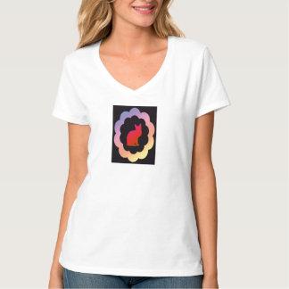 Scalloped Kitty - T-Shirt