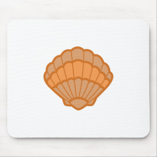SCALLOPED SHELL APPLIQUE MOUSE PAD