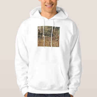 Scalloped Siulsaw and Cattails Hoodie