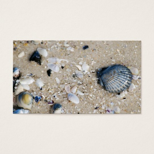Scallops & Sand [Business] Business Card