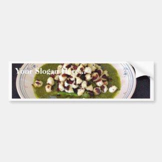 Scallops With Seseme Cilantro Sauce Bumper Stickers