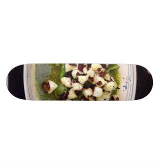 Scallops With Seseme Cilantro Sauce Skate Board Decks