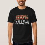 Scallywag 100 Percent W T-shirt