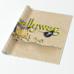 Scallywag - Pirate Parrot, Treasure Chest Gift Wrap Paper