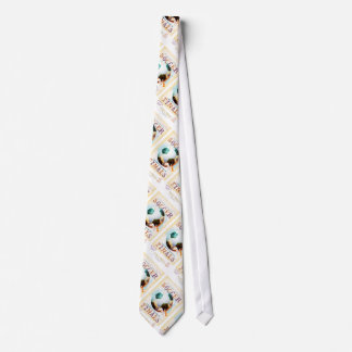 Scallywags Soccer Poster Neck Tie