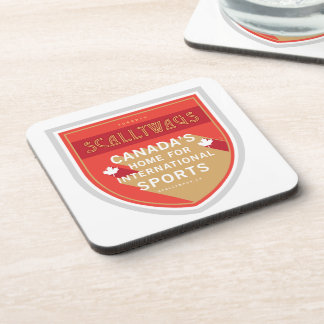Scallywags Sports Crest Coasters