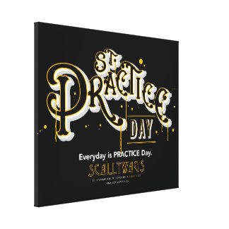 Scallywags St Practice Day Canvas Print